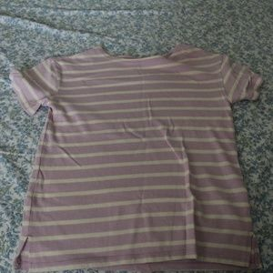 Old Navy lilac stripe sweater